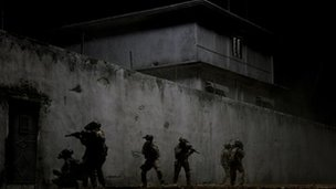 Scene from Zero Dark Thirty