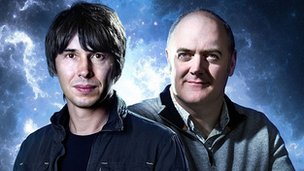 Brian Cox and Dara O Briain