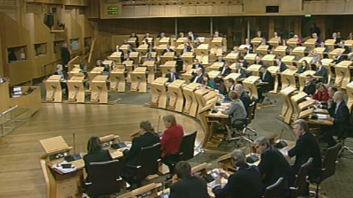 MSPs vote during decision time