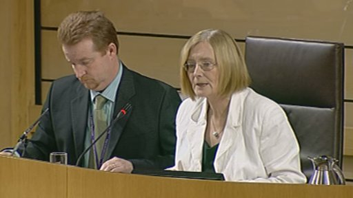 Presiding Officer Tricia Marwick concluded decision time with a warm tribute to the former Labour MSP John Park
