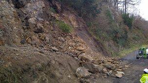 Jiggers Bank landslide