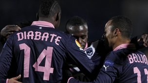 Cheick Diabate scored for Bordeaux