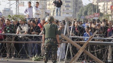 Protesters in Cairo 06/12/2012