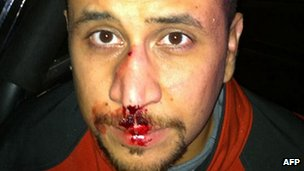 George Zimmerman (photo released by Sanford Police