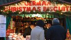 German biscuit stall