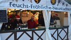 German wine stall