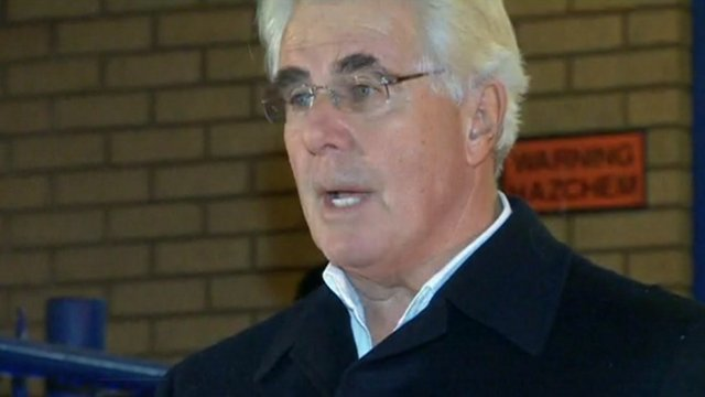 PR consultant Max Clifford 