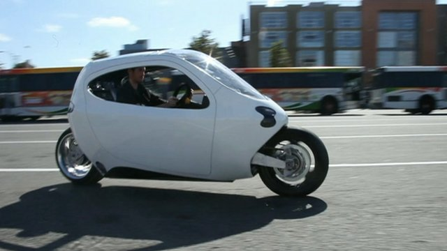 Lit Motors prototype motorcycle