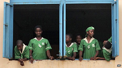 Lagos school, December 2012