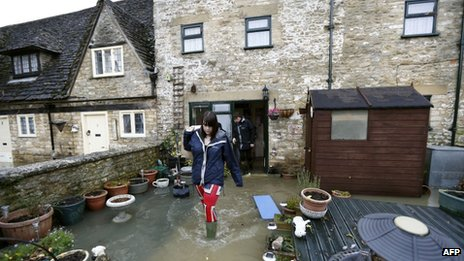 Malmesbury flooding on 25th November 2012