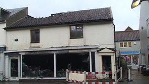 Pact animal charity shop fire