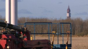 Blackpool Tower is just over five miles from the Anna's road site