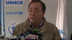 VIDEO: Ban Ki Moon: End violence in Syria