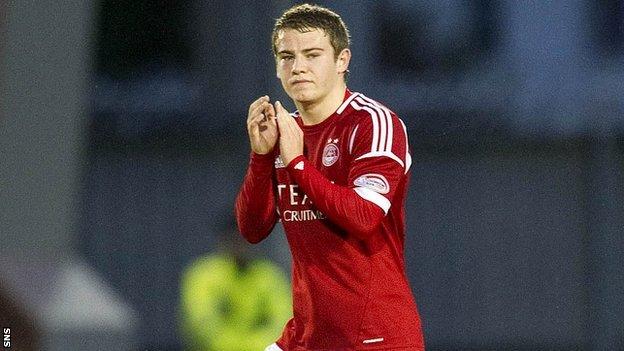 Aberdeen winger Ryan Fraser