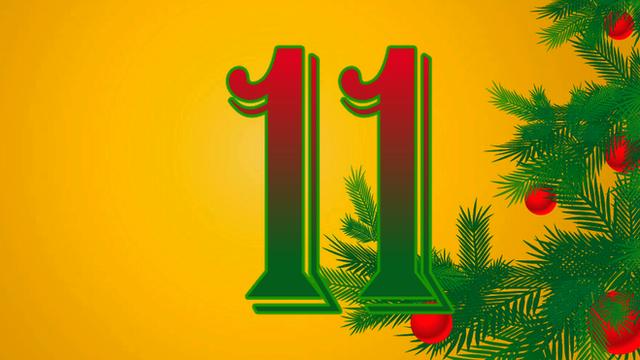 BBC Sport's advent calendar - 11 December