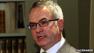 Environment Minister Alex Attwood
