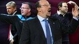Arsene Wenger, Paul Lambert, Rafael Benitez, Martin O'Neill