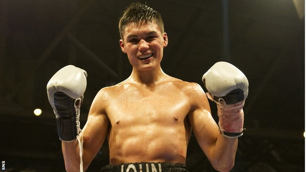 Edinburgh light-middleweight John Thain