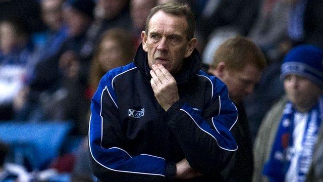 Kilmarnock boss Kenny Shiels