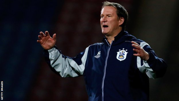 Huddersfield manager Simon Grayson