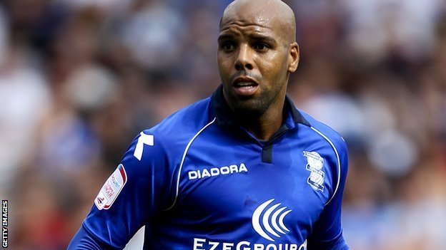 Birmingham City's Marlon King