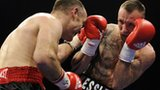 Brian Magee and Mikkel Kessler during the Herning fight