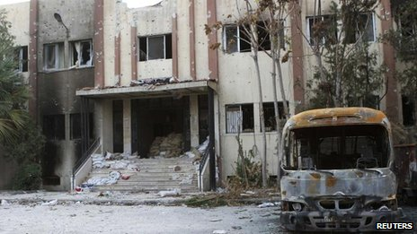 The Damascus suburb of Douma 21, November 2012