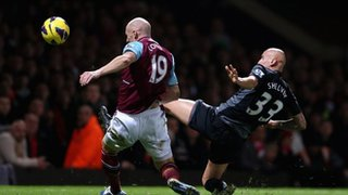 James Collins and Jonjo Shelvey