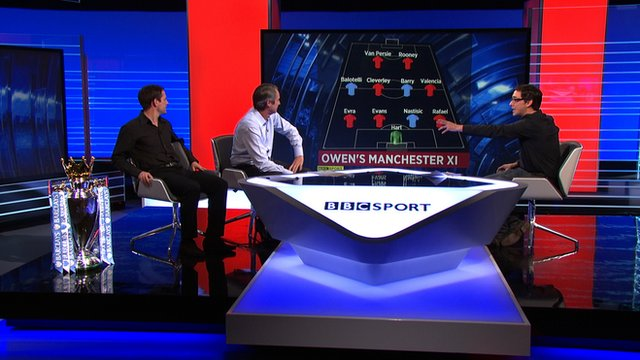 MOTD3 select best Manchester XI