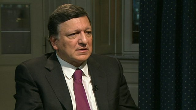 resident of the European Commission, José Manuel Barroso