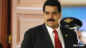 Nicolas Maduro in file photo from November 2012