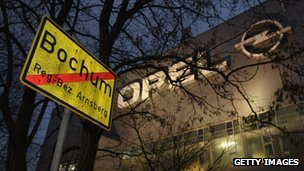 Opel's Bochum plant
