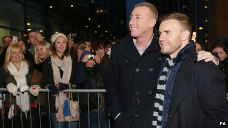 Christopher Maloney and Gary Barlow