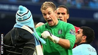 Joe Hart & fan