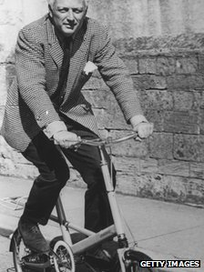 Small Wheeled Bicycle Inventor Dr Alex Moulton Dies Bbc News