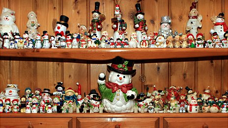 Snowmen from Diana Howes' collection