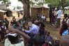 Evan Davis interviewing people in Nimba Point