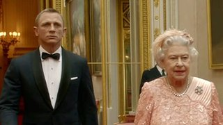 James Bond and Queen
