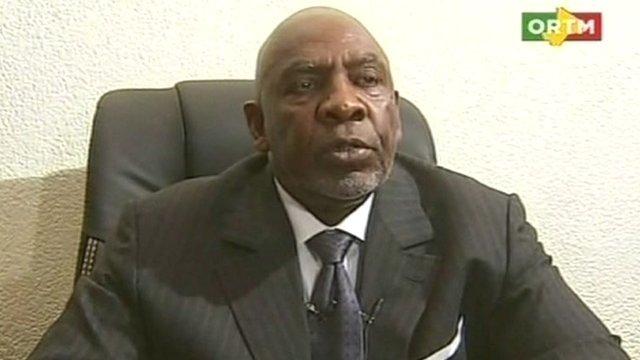 Mali's Prime Minister Cheik Modibo Diarra