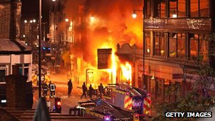 Tottenham riots of August 2011