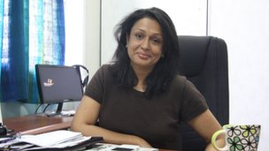 Shakuntala Perera, the Leader's new editor