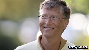 Bill Gates pictured in 2007