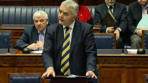 Junior Minister Jonathan Bell