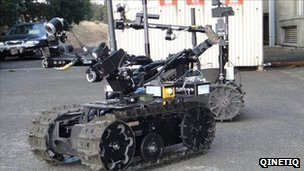 Qinetiq Talon robot