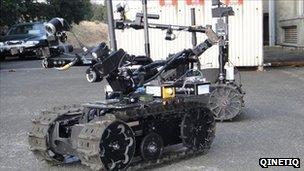 Qinetiq Talon robot