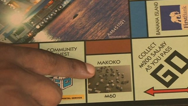 Monopoly Lagos board game