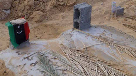 Graves in Misrata