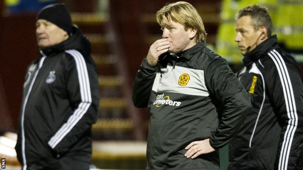 Stuart McCall assesses his Motherwell team against Aberdeen