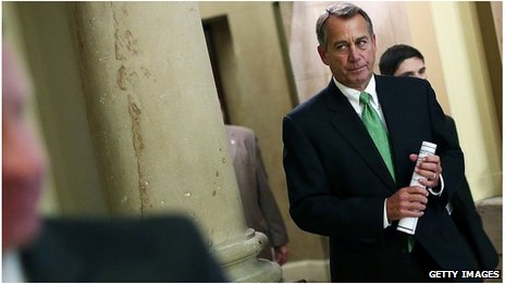 John Boehner in Congress, 11 Dec 2012