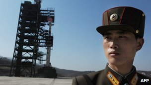64707850 64707847 North Korea defies warnings to launch rocket